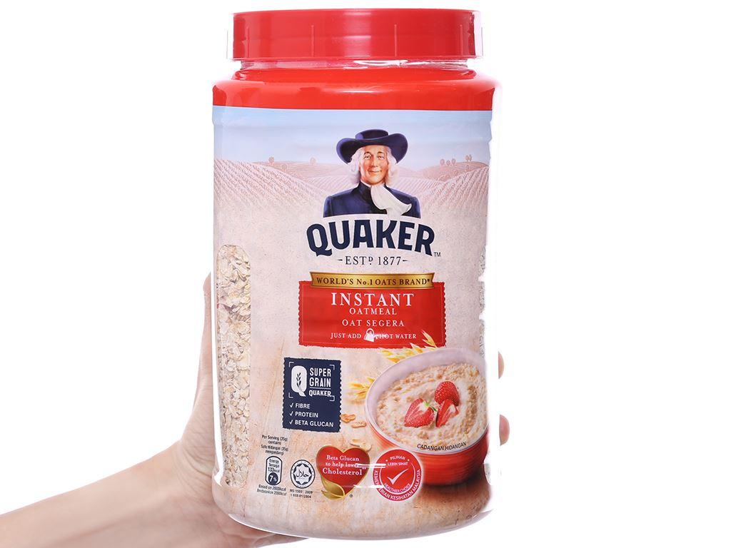 Yến mạch ăn liền Quaker hộp 600g 3