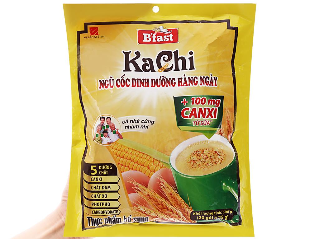 Ngũ cốc dinh dưỡng VinaCafé Kachi bịch 500g 3