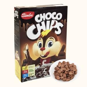 Bánh ngũ cốc Simba Choco Chips hộp 170g