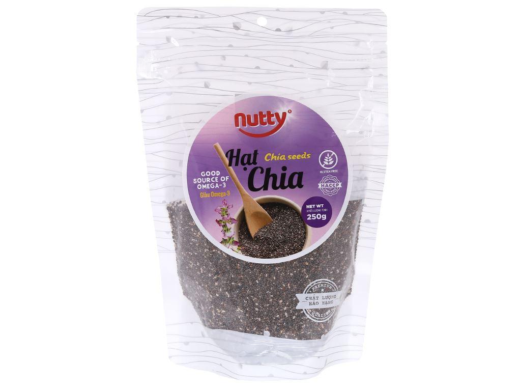 Hạt chia Nutty gói 250g 1