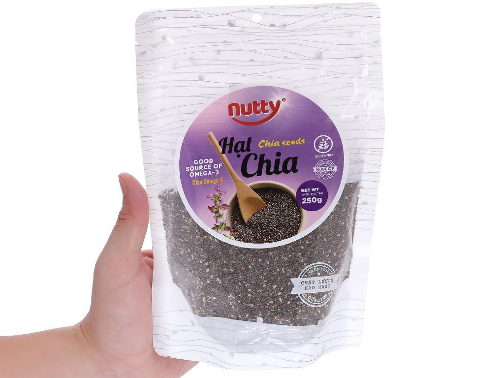 Hạt chia Nutty gói 250g 4