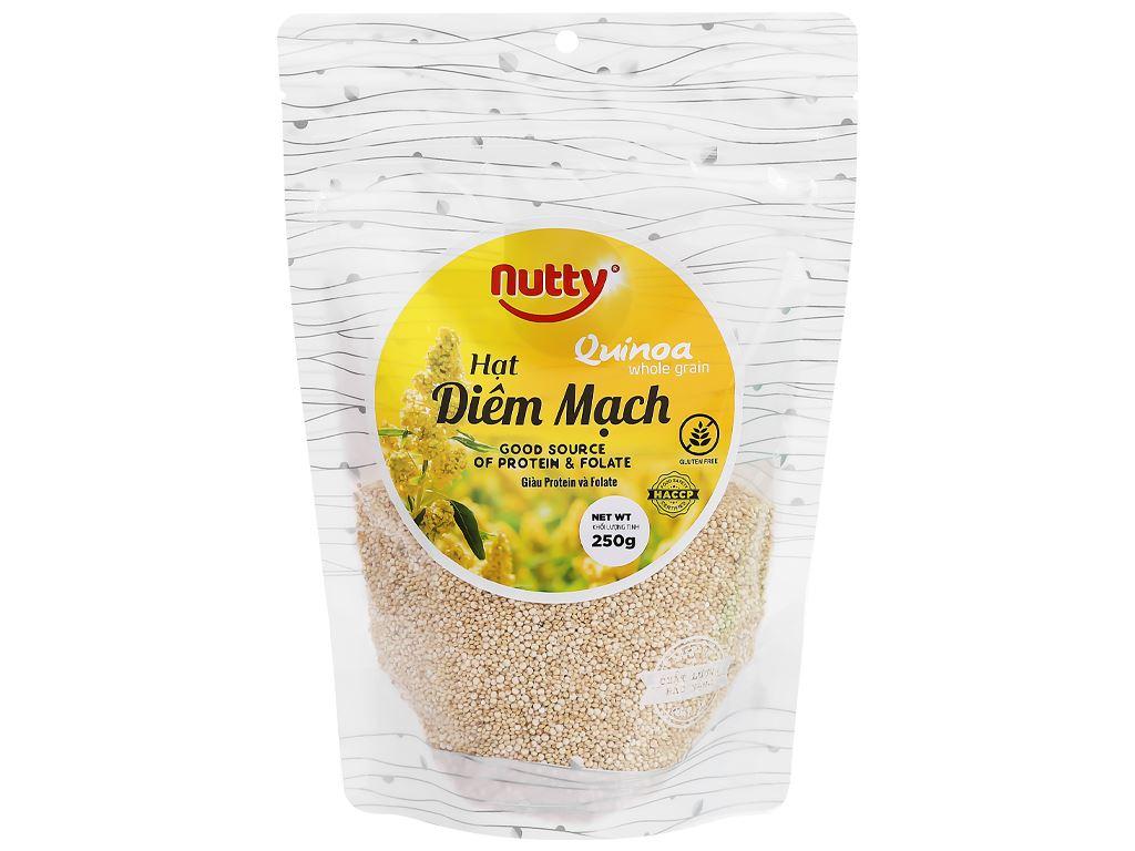 Hạt diêm mạch Nutty gói 250g 1
