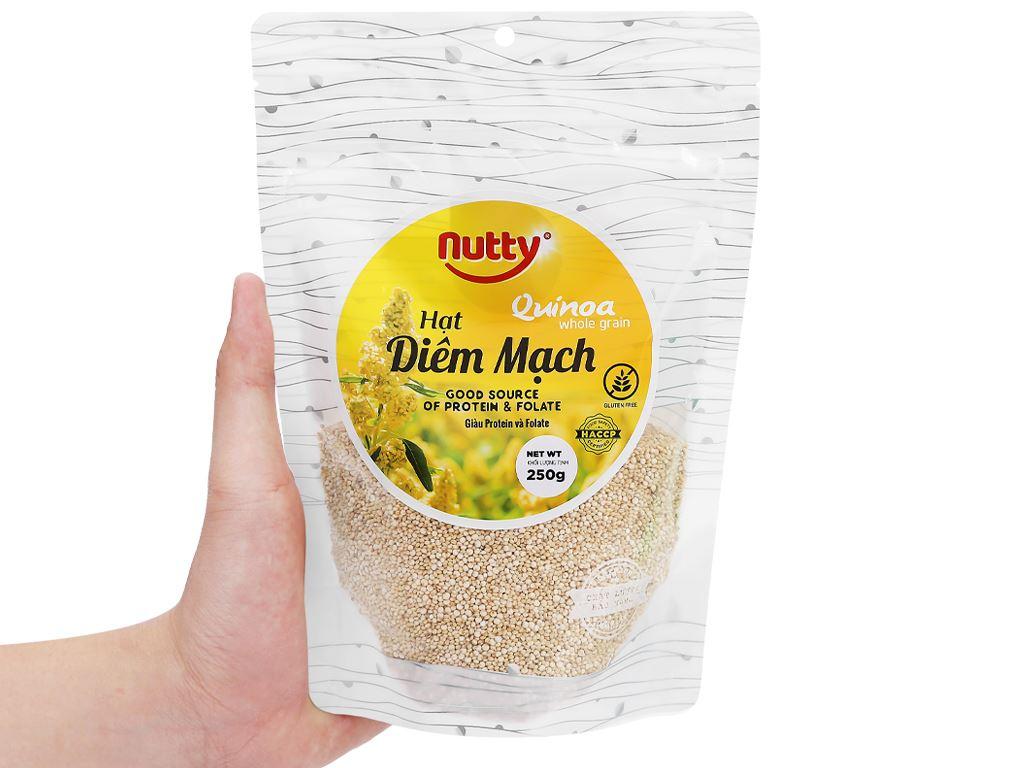 Hạt diêm mạch Nutty gói 250g 4