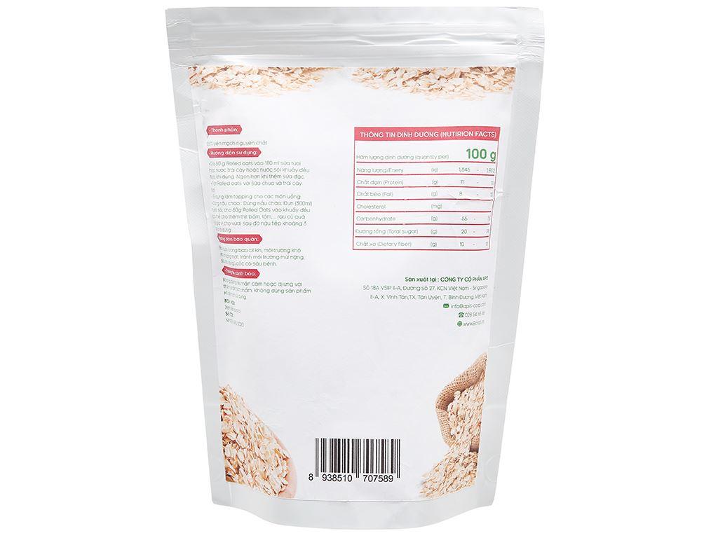 Yến mạch nguyên chất Navita Rolled Oats gói 250g 2