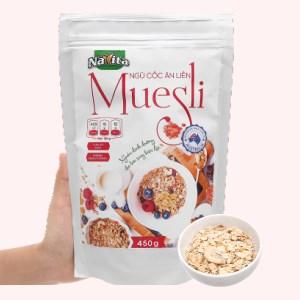 Ngũ cốc ăn liền Navita Muesli gói 450g