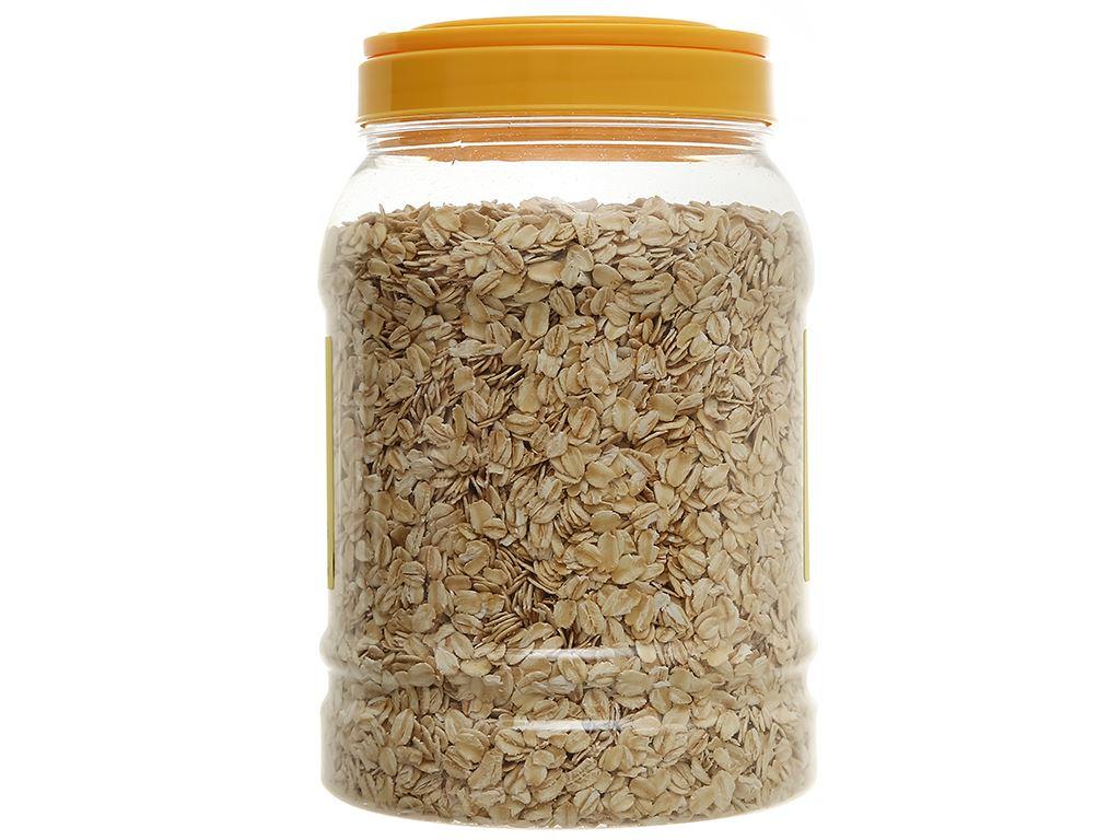 Yến mạch nguyên chất cán mỏng Mr.Johnny hộp 900g 2