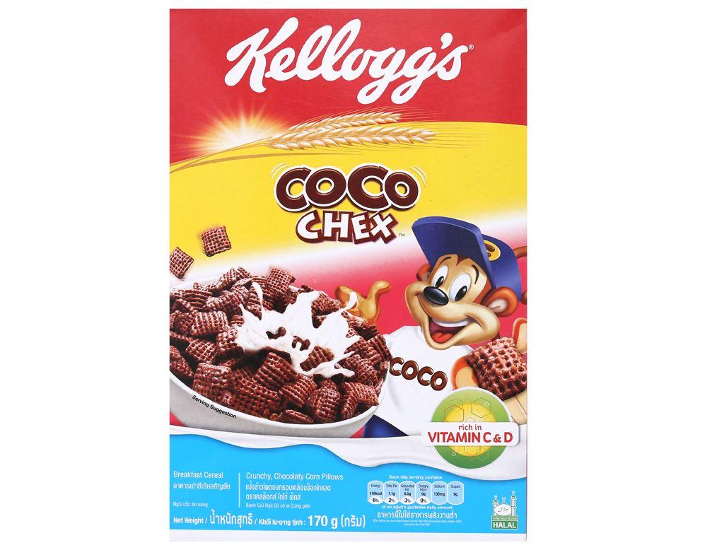 Ngũ cốc Kellogg's Coco Chex vị socola hộp 170g 2