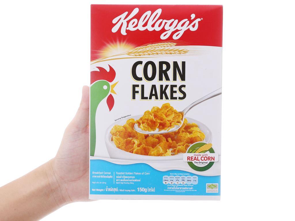 Ngũ cốc Kellogg's Corn Flakes vị bắp hộp 150g 5