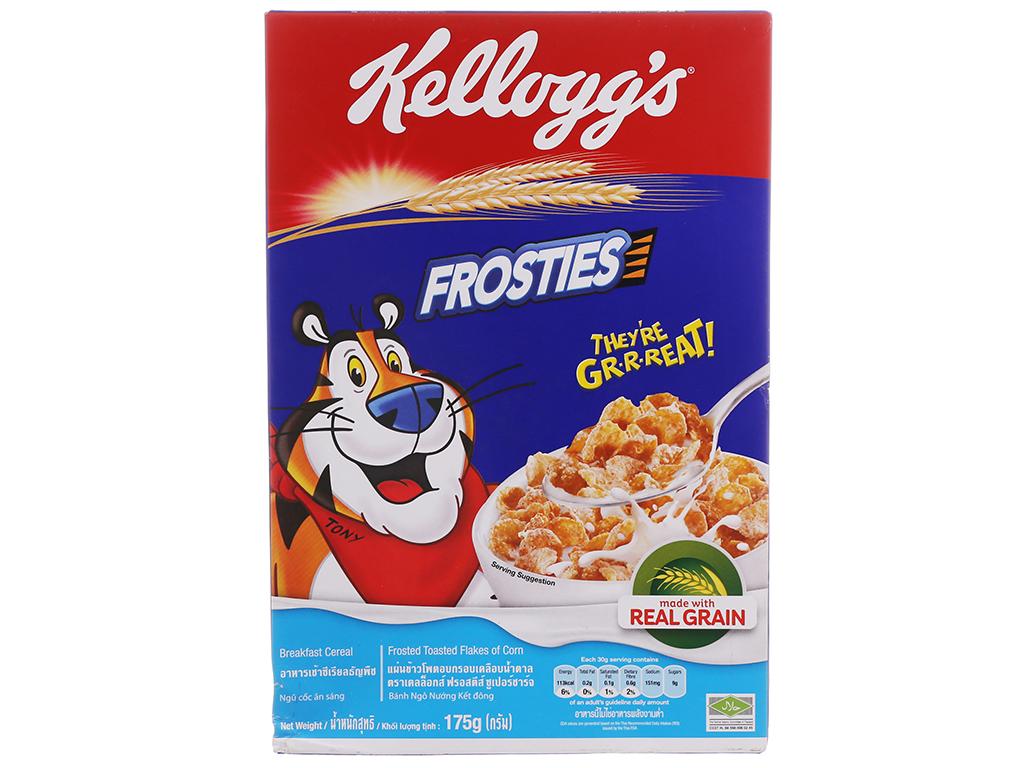 Ngũ cốc Kellogg's Frosties vị bắp hộp 175g 1