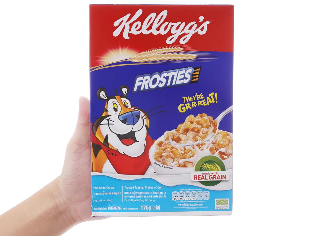 Ngũ cốc Kellogg's Frosties vị bắp hộp 175g 4