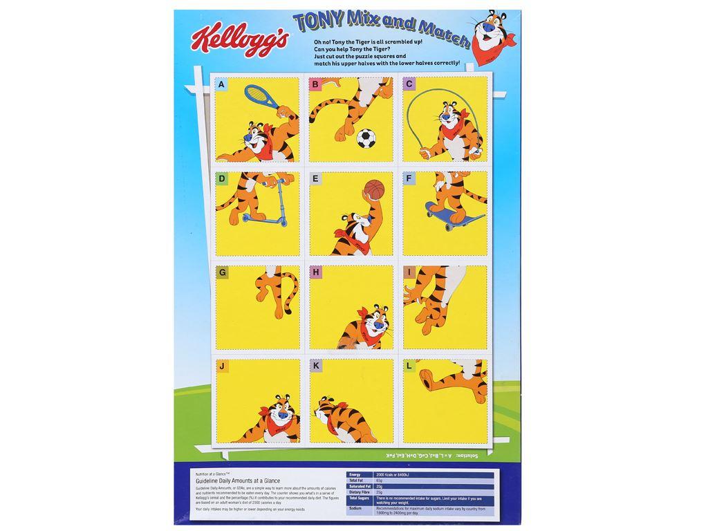 Ngũ cốc Kellogg's Frosties vị bắp hộp 175g 2