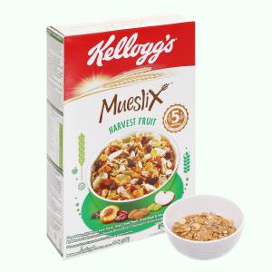 Ngũ cốc trộn trái cây khô Kellogg's Mueslix Harvest Fruit hộp 375g