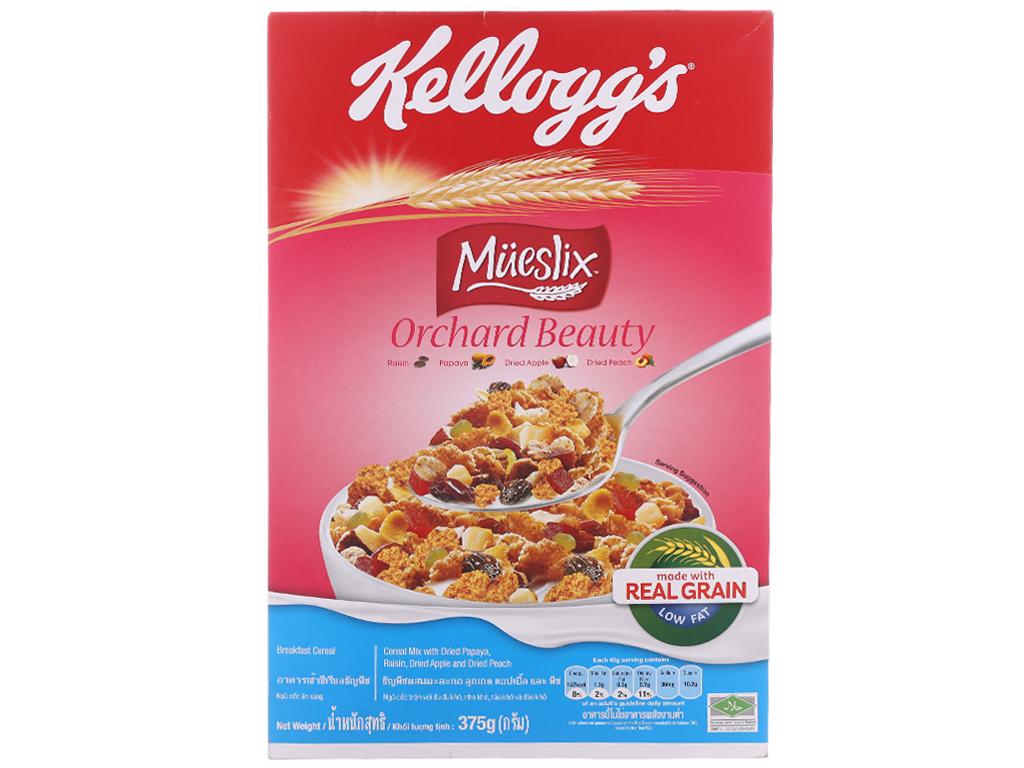 Ngũ cốc trộn trái cây khô Kellogg's Mueslix Orchard Beauty hộp 375g 2