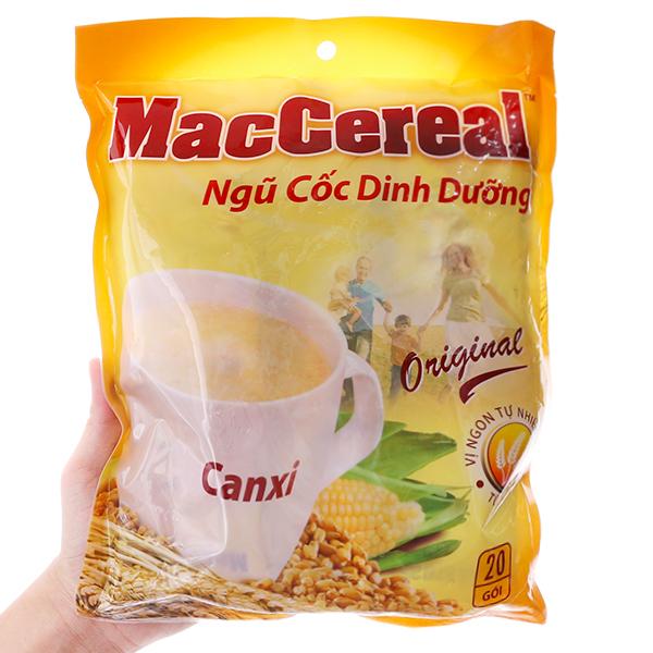 Ngũ cốc dinh dưỡng MacCereal Bổ sung canxi bịch 560g