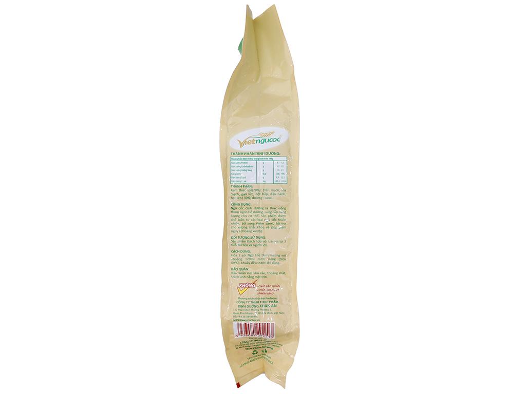 Ngũ cốc dinh dưỡng Việt Ngũ Cốc Yến mạch, hạt sen, gạo lức, bắp bịch 600g 3