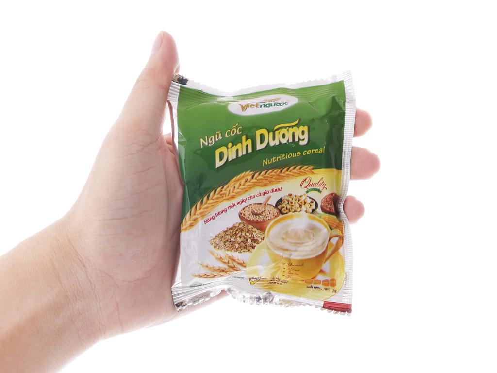 Ngũ cốc dinh dưỡng Việt Ngũ Cốc Yến mạch, hạt sen, gạo lức, bắp bịch 600g 6