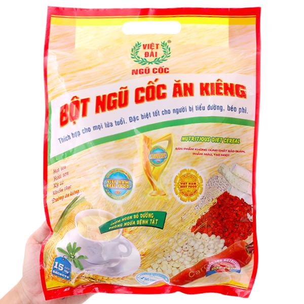 Bột ngũ cốc ăn kiêng Việt Đài bịch 600g