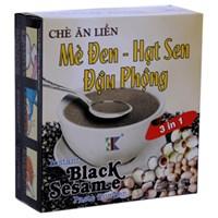 Chè mè đen, hạt sen, đậu phộng 3K hộp 150g