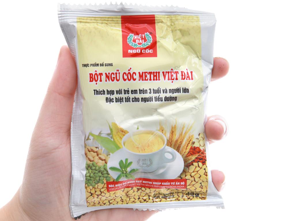 Bột ngũ cốc Methi Việt Đài bịch 600g 3