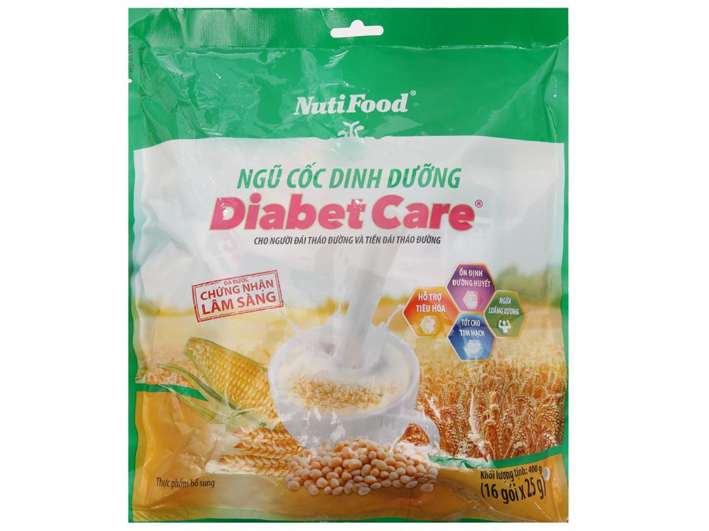 Ngũ cốc dinh dưỡng NutiFood Diabet Care cho người tiểu đường bịch 400g 1