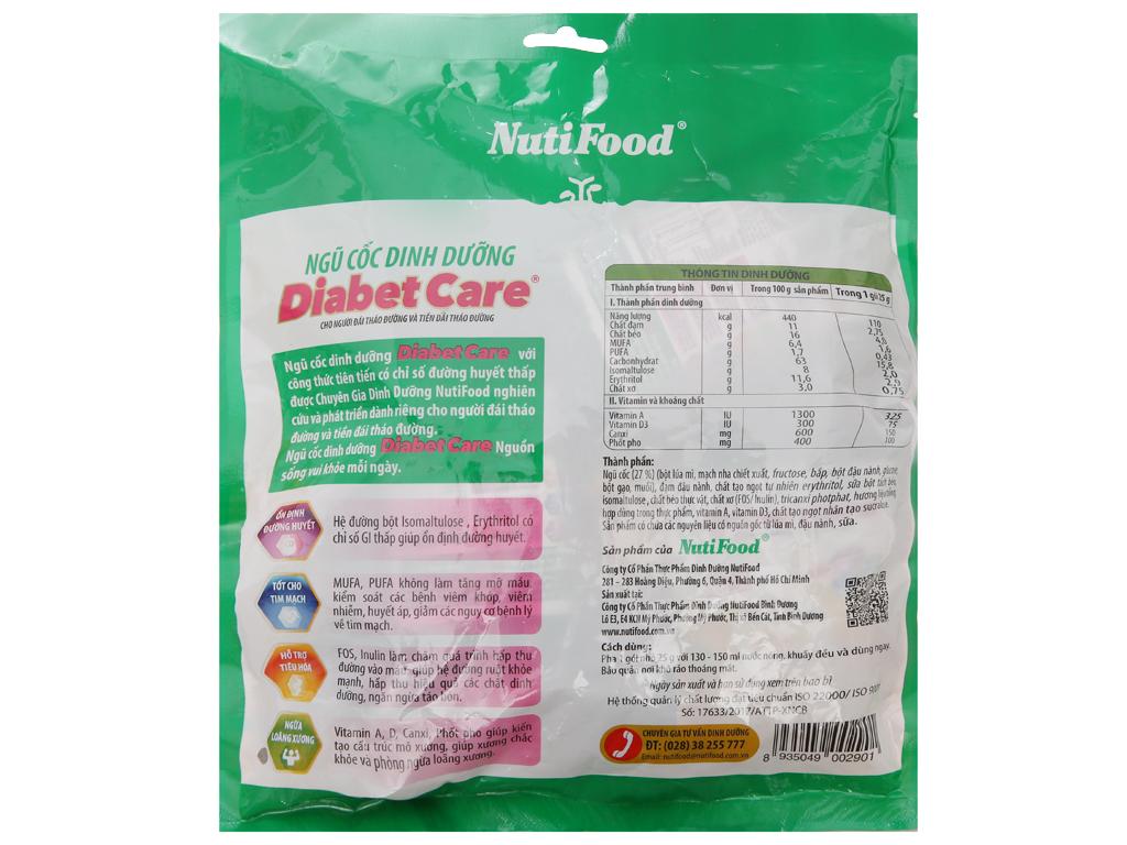 Ngũ cốc dinh dưỡng NutiFood Diabet Care cho người tiểu đường bịch 400g 2