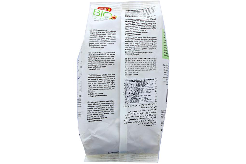 Ngũ cốc sạch hỗn hợp các loại hạt Bio Organic gói 450g