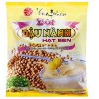 Bột đậu nành hạt sen Bích Chi Có đường bịch 350g (10 gói)