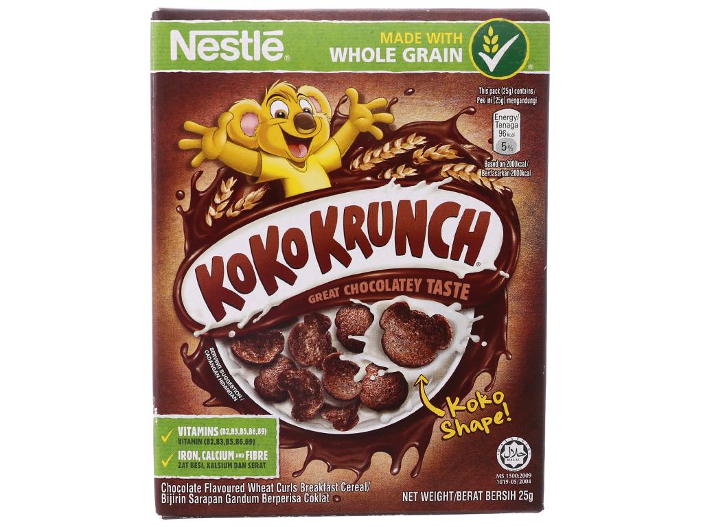 Ngũ cốc Nestlé Koko Krunch hộp 25g 2