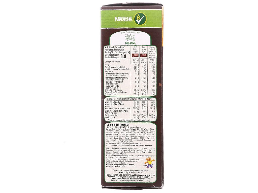 Ngũ cốc Nestlé Koko Krunch hộp 25g 3