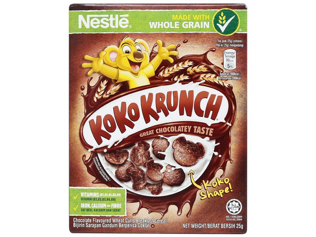 Ngũ cốc Nestlé Koko Krunch hộp 25g 5