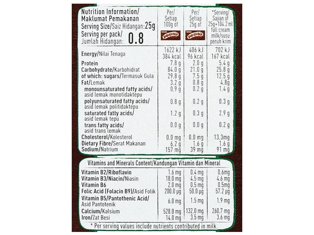 Ngũ cốc Nestlé Koko Krunch hộp 25g 8