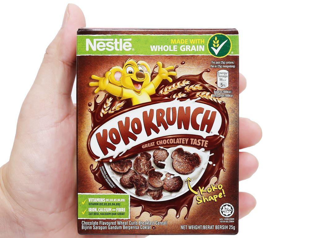 Ngũ cốc Nestlé Koko Krunch hộp 25g 9