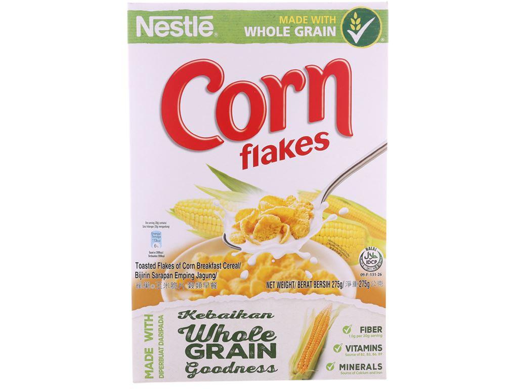 Ngũ cốc Nestlé Corn Flakes vị bắp hộp 275g 2