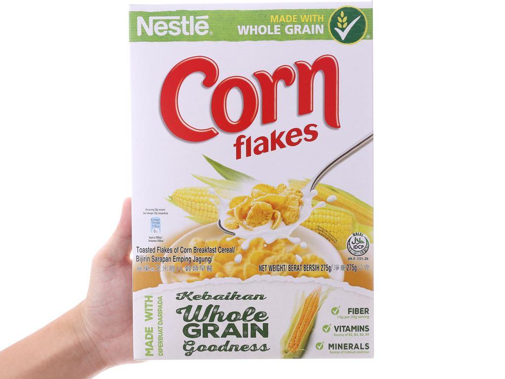 Ngũ cốc Nestlé Corn Flakes vị bắp hộp 275g 5