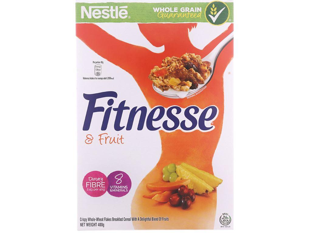 Ngũ cốc Nestlé Fitnesse & Fruit hộp 400g 2