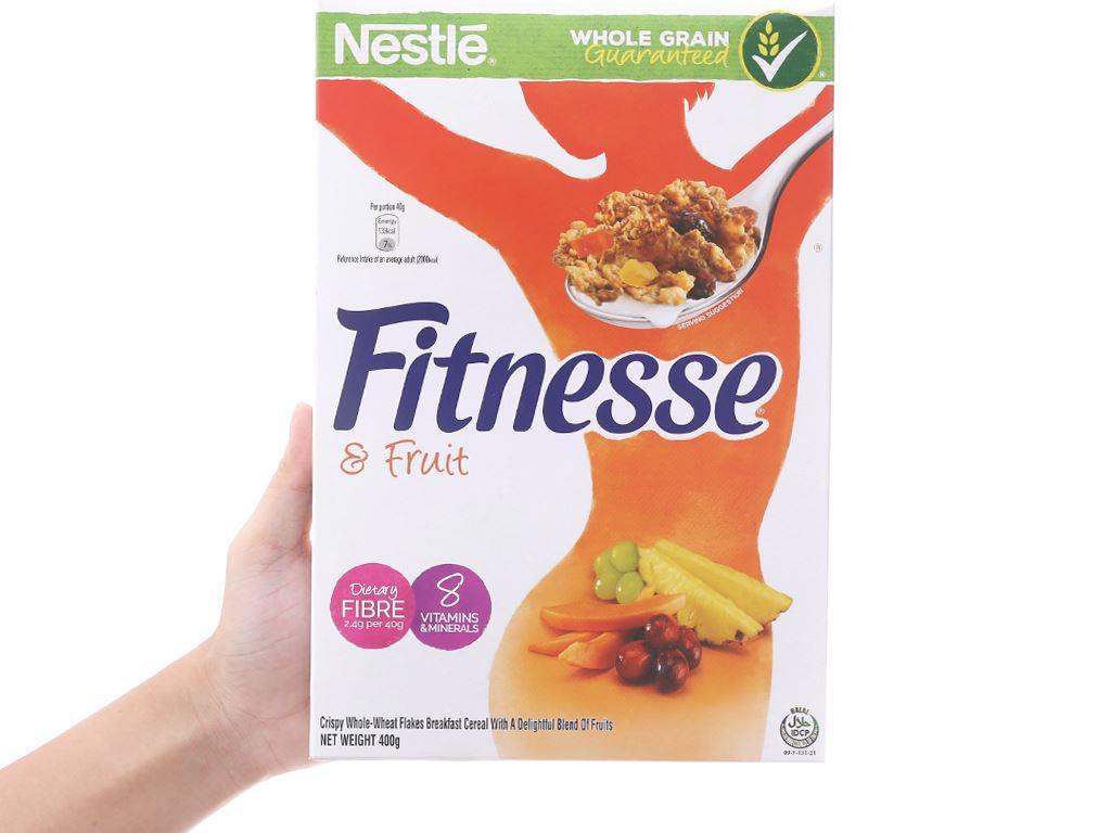Ngũ cốc Nestlé Fitnesse & Fruit hộp 400g 5