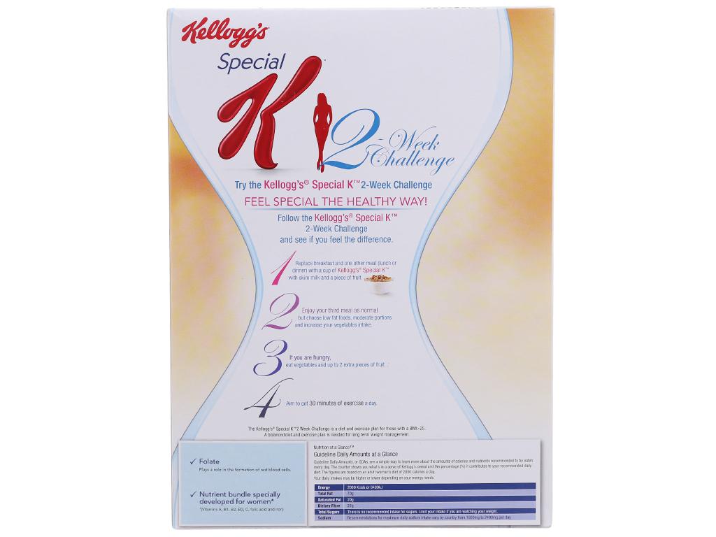 Ngũ cốc Kellogg's Special K yến mạch và mật ong hộp 209g 3