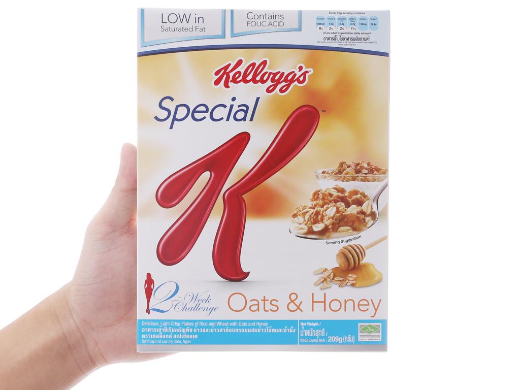 Ngũ cốc Kellogg's Special K yến mạch và mật ong hộp 209g 5
