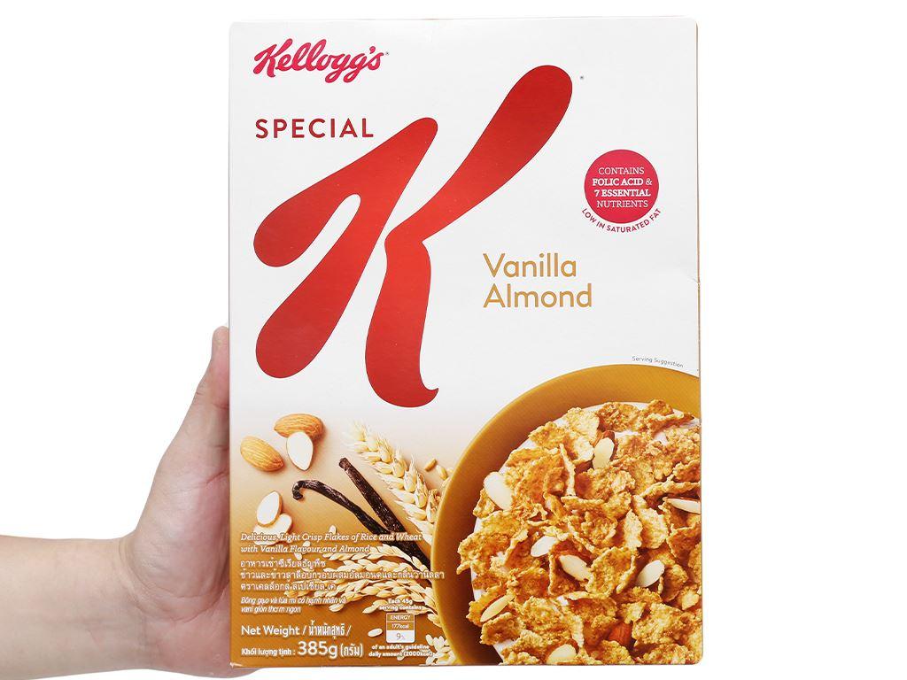 Ngũ cốc Kellogg's Special K Vanilla Almond hộp 385g 8