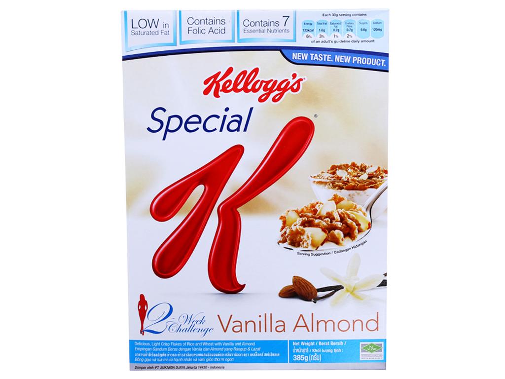 Ngũ cốc Kellogg's Special K Vanilla Almond hộp 385g 2