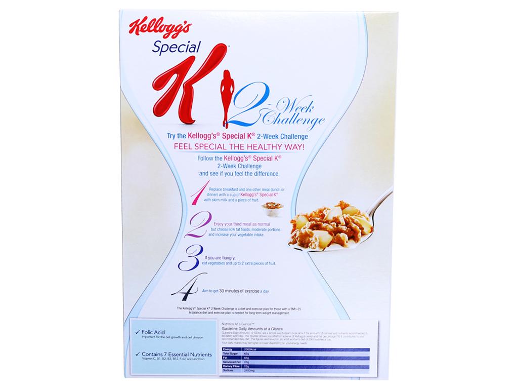 Ngũ cốc Kellogg's Special K Vanilla và Almonds hộp 385g 3