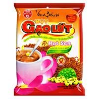 Bột gạo lứt hạt sen Bích Chi Không đường bịch 300g (10 gói)