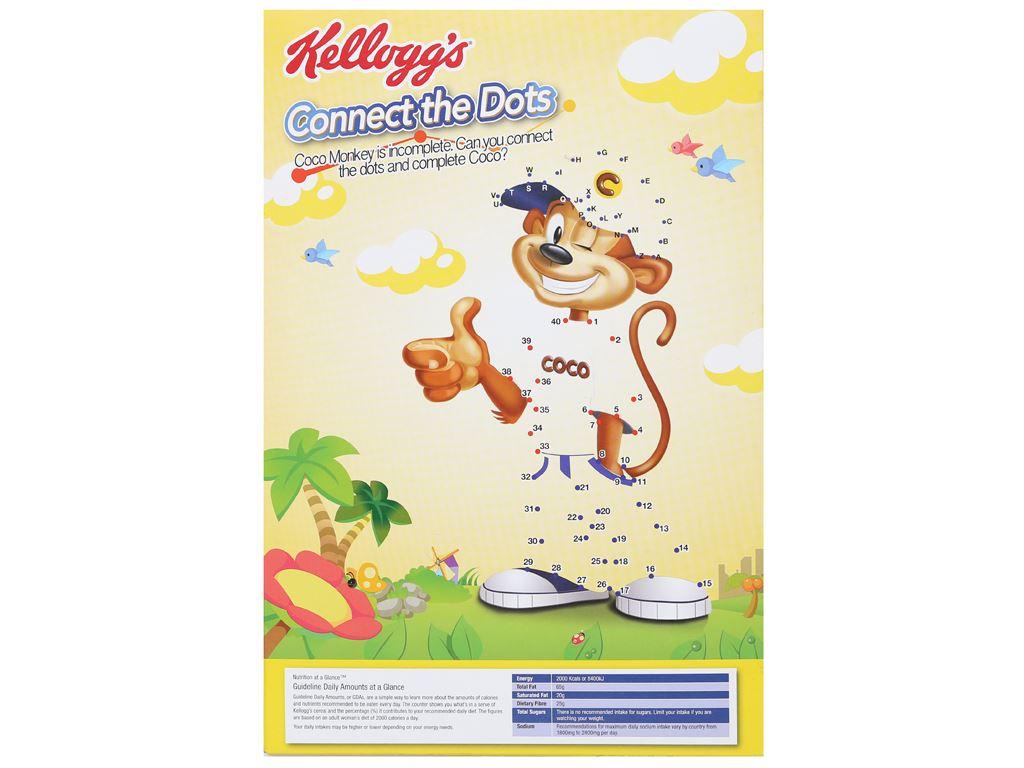 Ngũ cốc Kellogg's Coco Loops vị socola hộp 170g 2