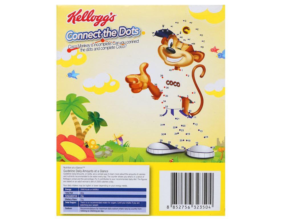Ngũ cốc Kellogg's Coco Loops vị socola hộp 30g 6