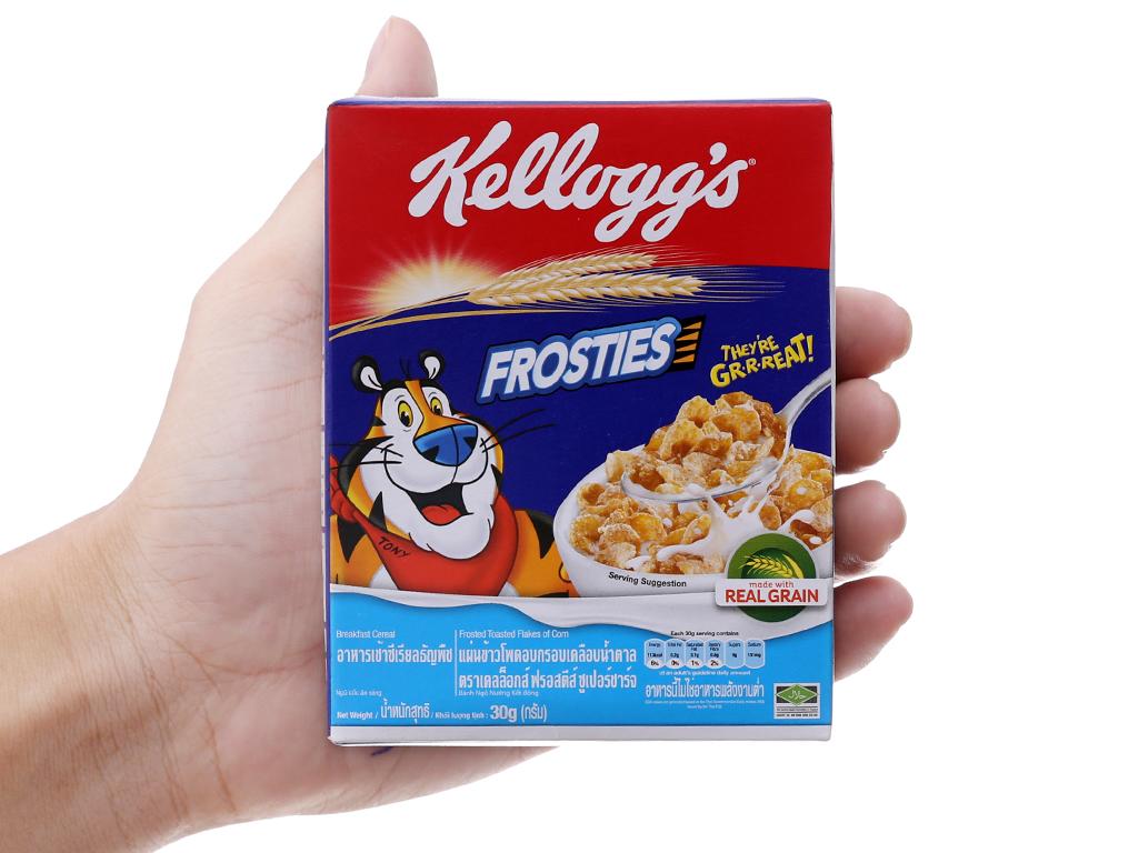 Ngũ cốc Kellogg's Frosties vị bắp hộp 30g 5
