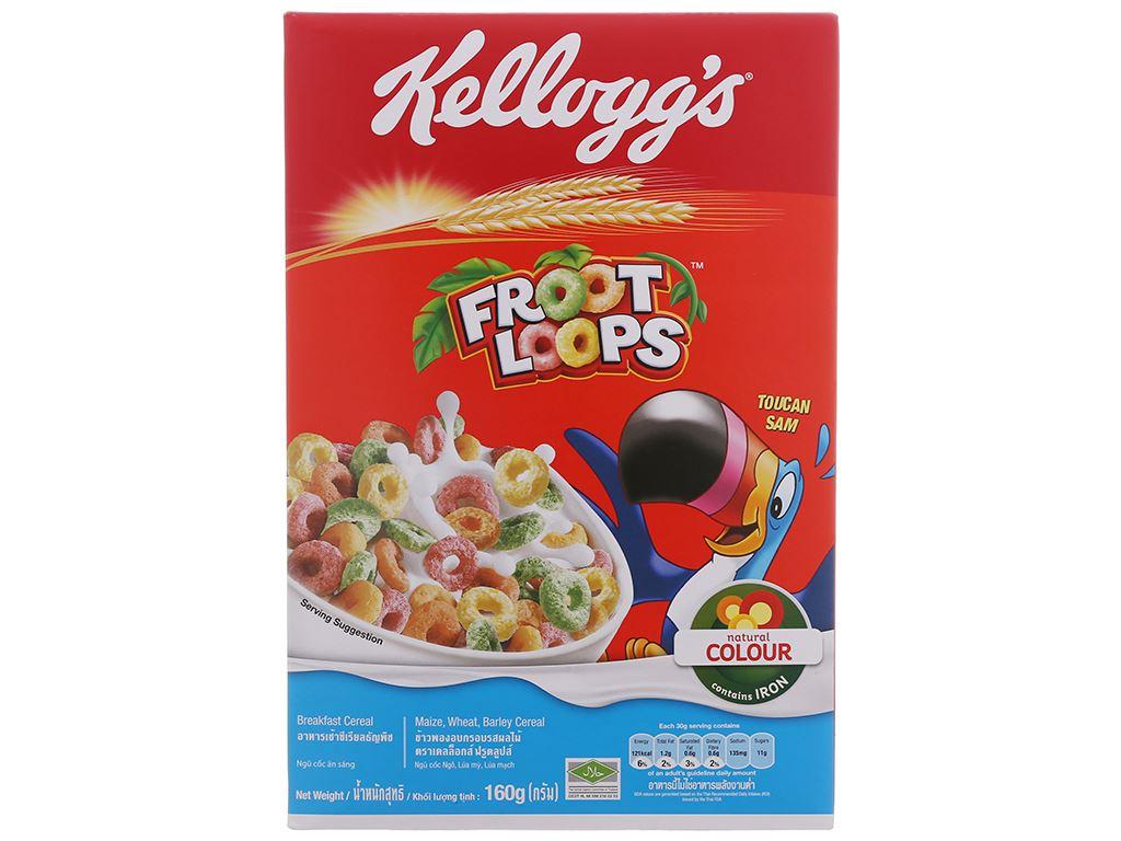 Ngũ cốc Kellogg's Froot Loops hộp 160g 2