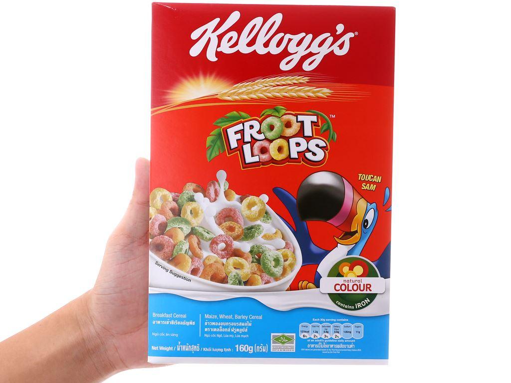 Ngũ cốc Kellogg's Froot Loops hộp 160g 5