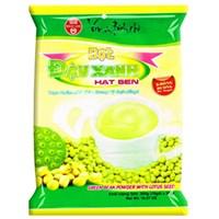 Bột đậu xanh hạt sen Bích Chi Không đường bịch 300g (10 gói)