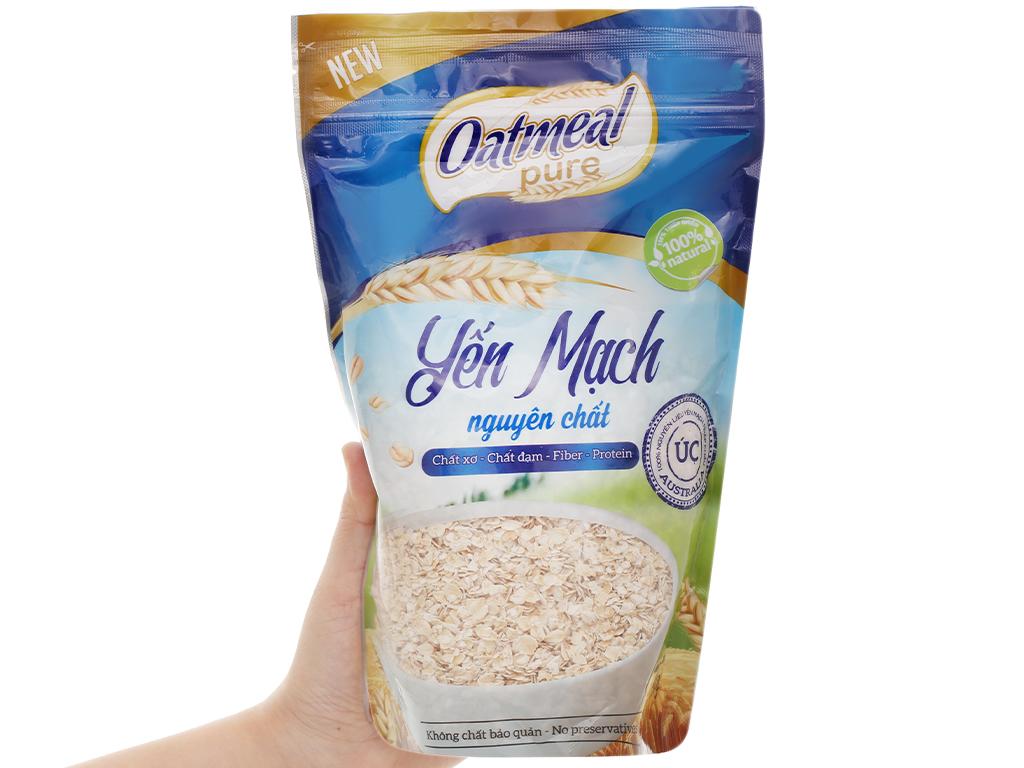 Yến mạch nguyên chất Oatmeal Cereal bịch 350g 10