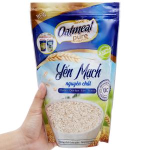 Yến mạch Oatmeal Cereal Nguyên chất bịch 350g